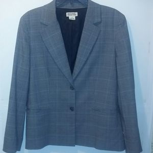 Michael Kors Plaid Blazer  Size 14